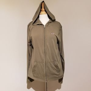 Hollister zip-up hoodie